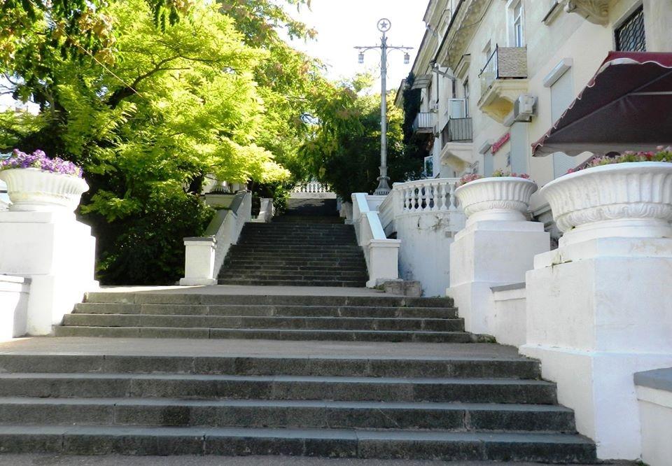 Все старинные лестницы севастополя фото
